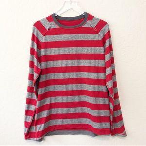 LULULEMON striped long sleeve tee